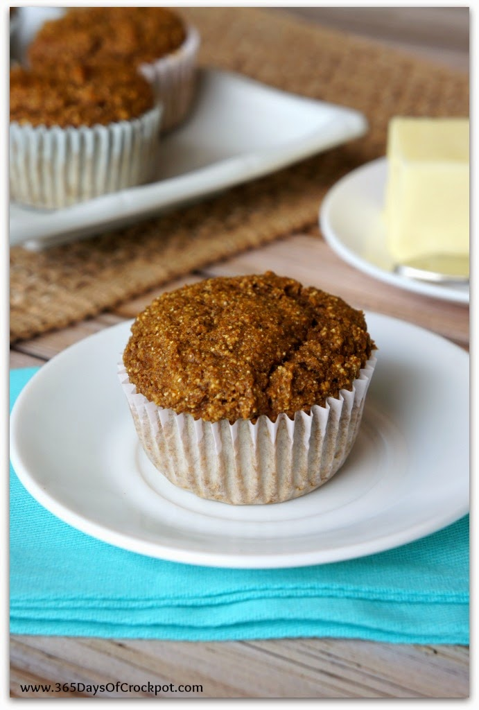 Whole wheat pumpkin bran muffins--only 109 calories per muffin and totally tasty!