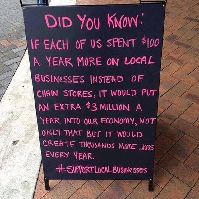 Support Your Local Businesses!