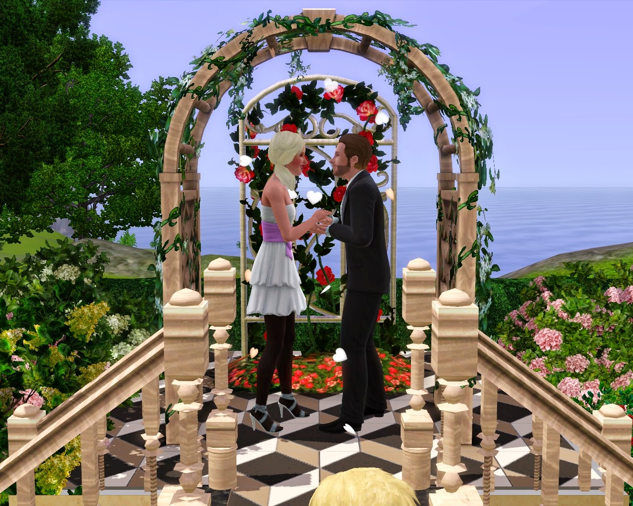 sims married