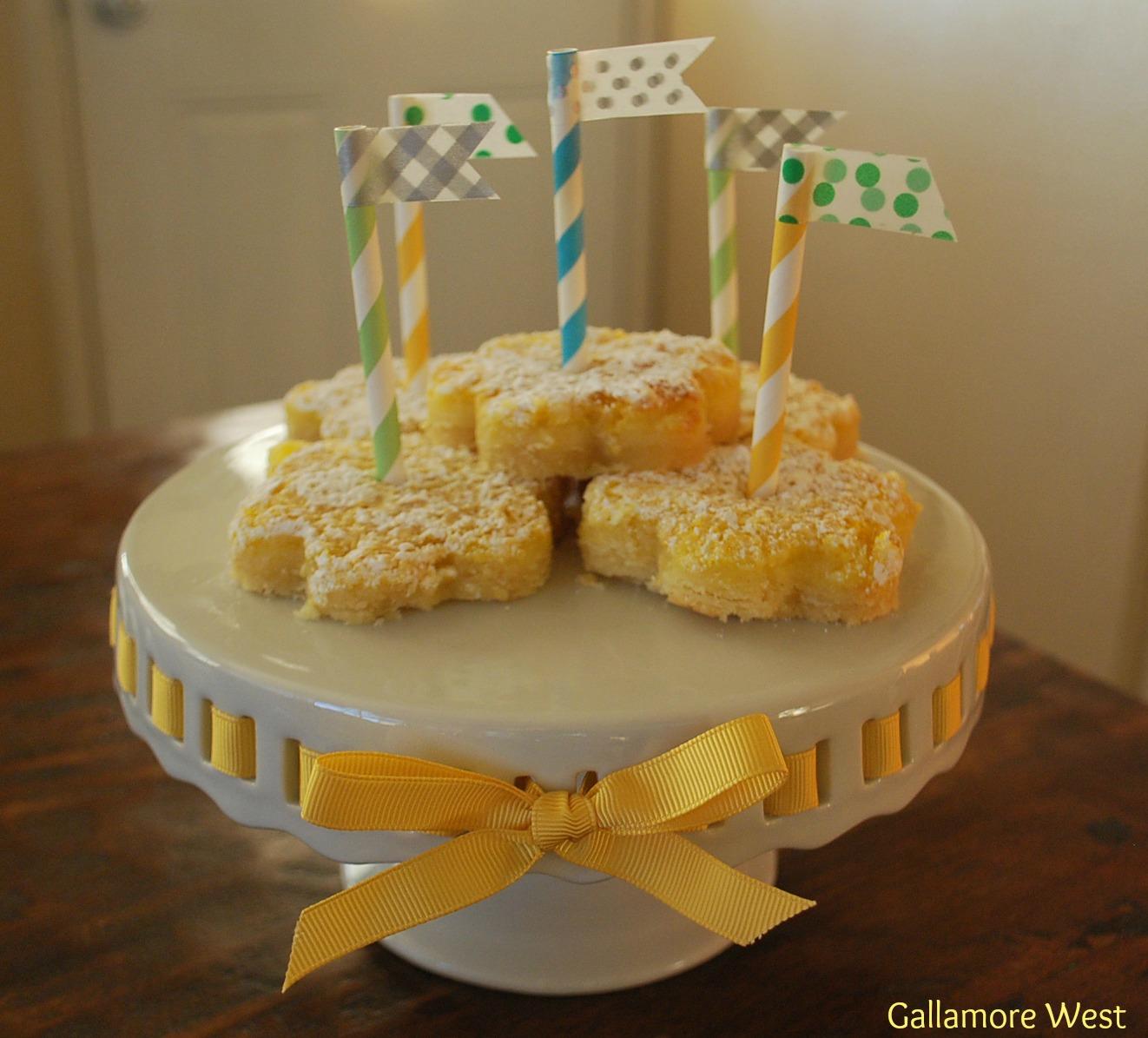 Gallamore West Happy Birthday Jen Lemon Bars