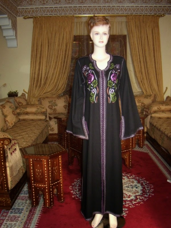djellaba maroc noir 2014