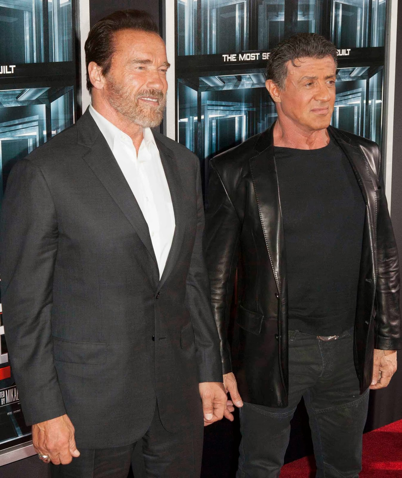 ¿Cuánto mide Arnold Schwarzenegger? - Altura - Real height Arnold+Schwarzenegger+With+Sylvester+Stallone