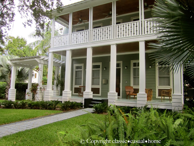 Modern low country style in tampa classic casual home for Low country architecture