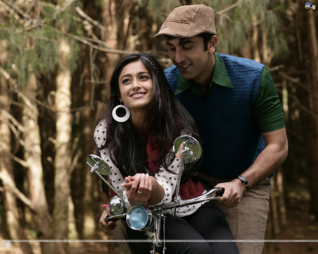 Barfi Movie Wallpaper - Ranbir Kapoor &  Priyanka Chopra