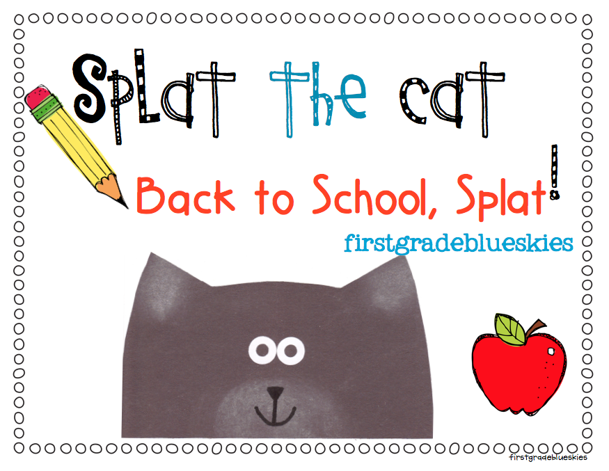 Splat the cat back to school splat first day freebie pack find this freebie on maxwellsz