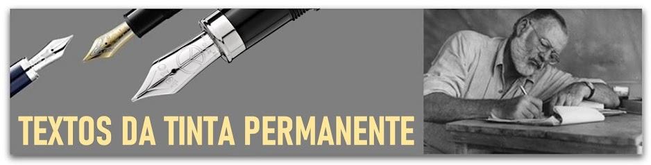 Textos da tinta permanente