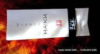 tomik HAIKU EKK - 2013