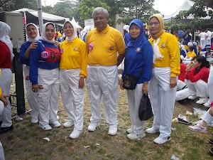 Mengikuti Sport For All 2011 Festival Olah Raga Nasional (FORNAS) I