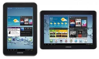 tablet yang bisa telepon dan sms, galaxy tab 2 harga spesifikasi, gambar tablet terbaru samsung