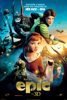 Epic, movie release, 3D, animated