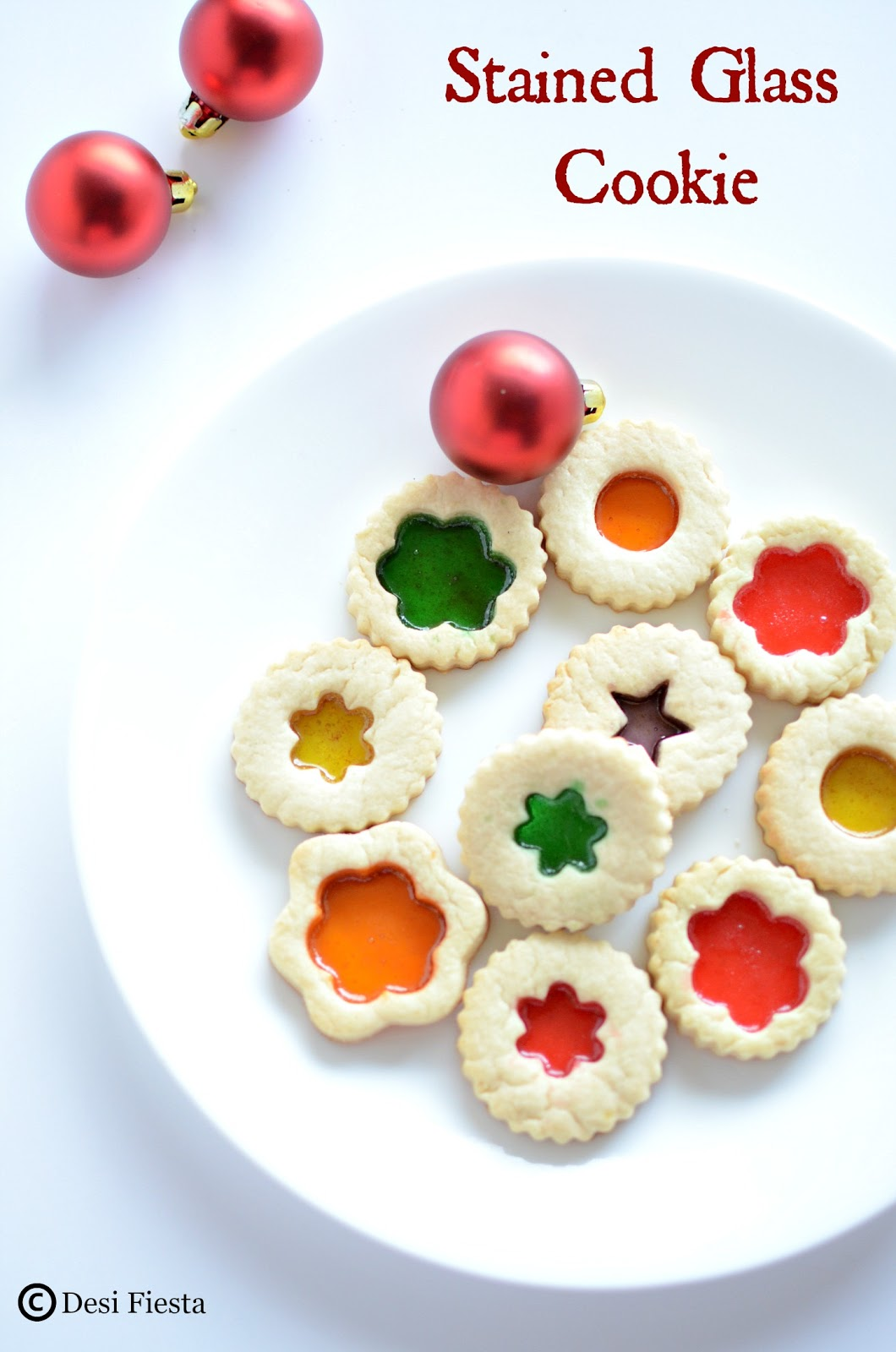 Desi Fiesta : Stained Glass Cookie | Stained Glasses Cookies Recipe