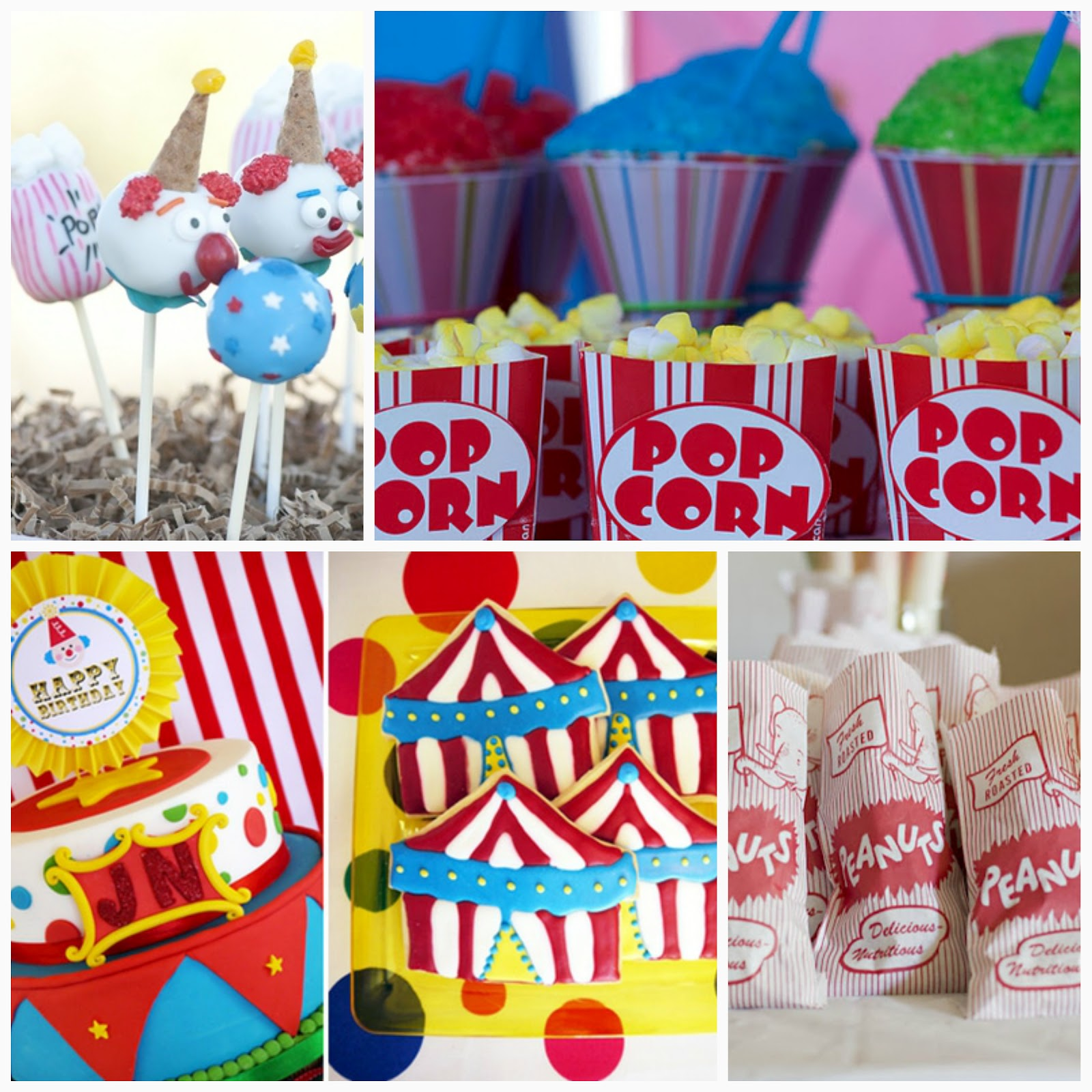Backyard carnival birthday party ideas 2017 2018 best cars reviews - Carnival party menu ...