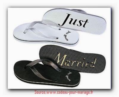 Cadeau mariage original