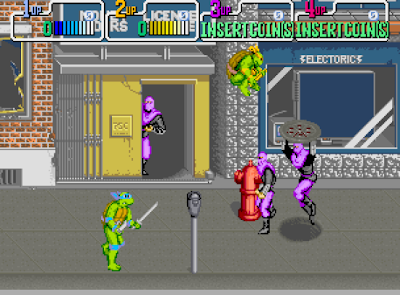 descargar videojuego portable Teenage Mutant Ninja Turtles