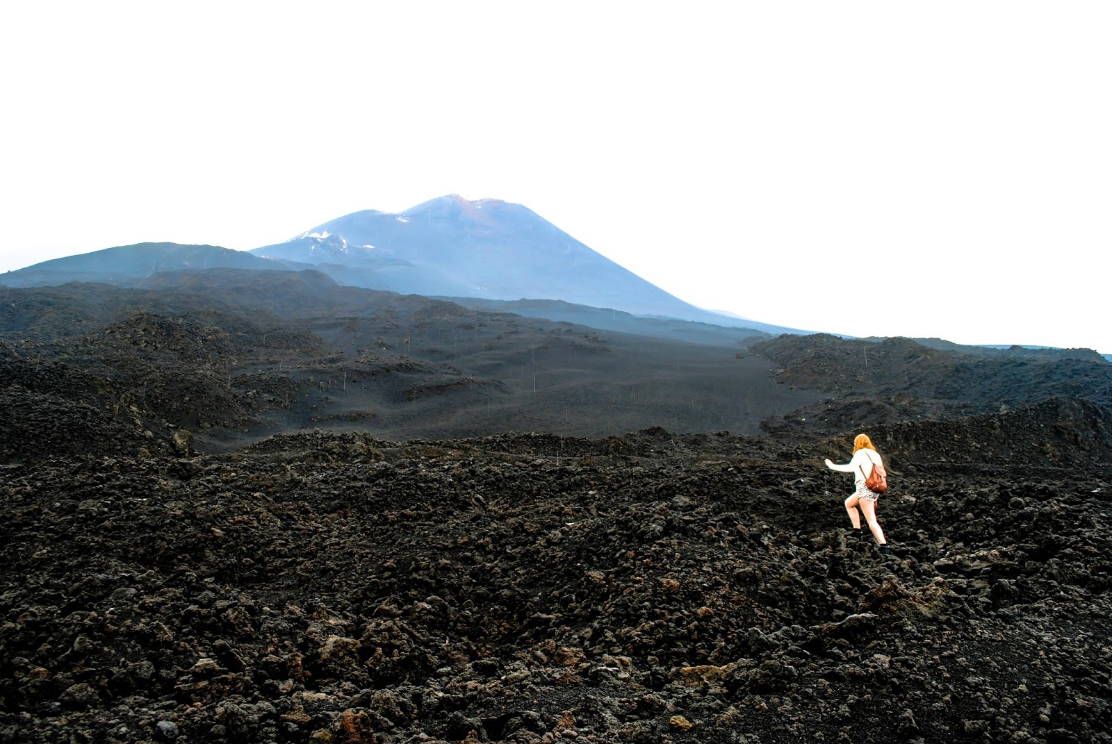 Hiking Mt Etna in Sicily