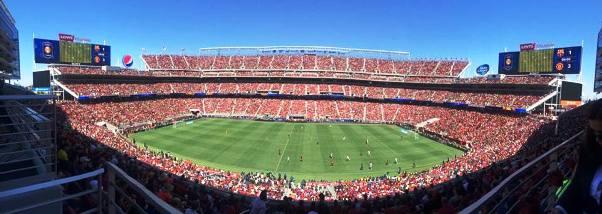 Stadion Levi's Santa Clara didominasi fans Setan Merah