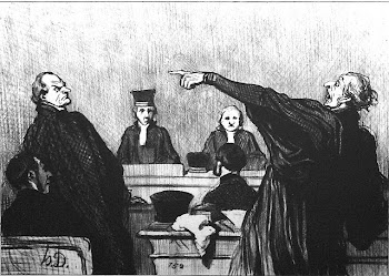 Gents de justice ( Daumier )