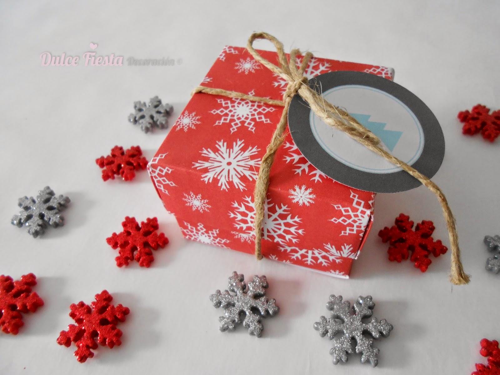 Dise o y decoraci n personalizada para eventos cajas de - Regalo padre navidad ...