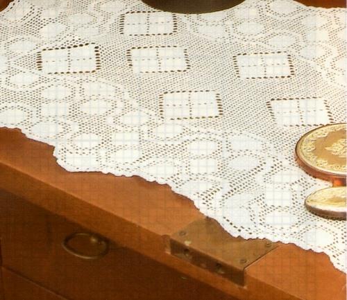Nonsolodolciricette schemi per il filet gratis bellissimo trittico per la camera da letto - Centri uncinetto camera da letto ...