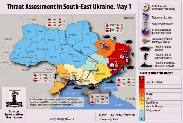 Opciones de Rusia ante la situación de Ucrania - Blog Geografía Política