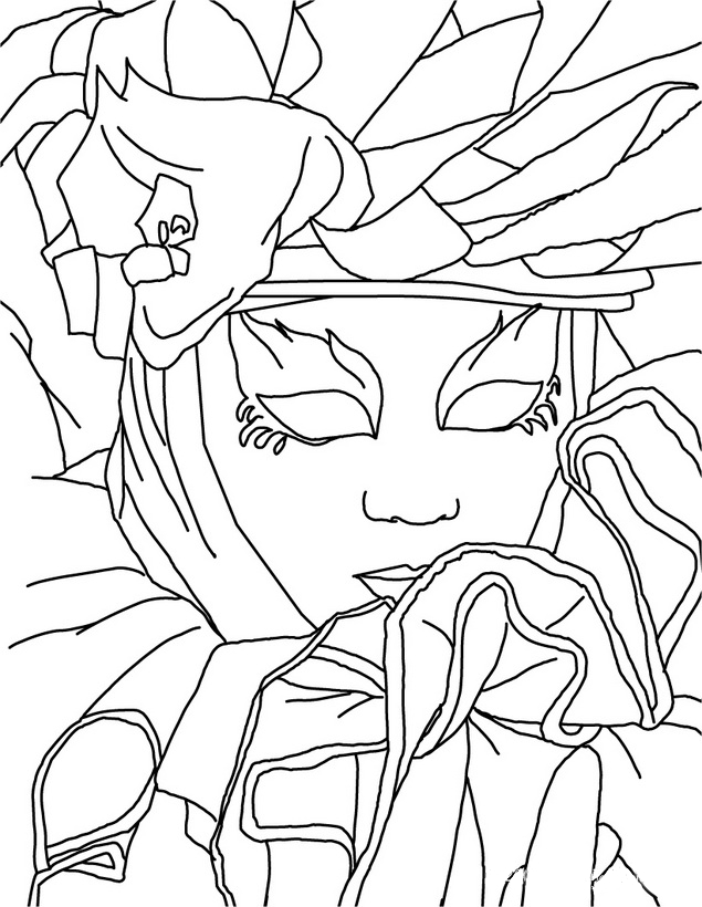 Moderno Páginas Para Colorear Máscaras Inspiración - Dibujos Para ...