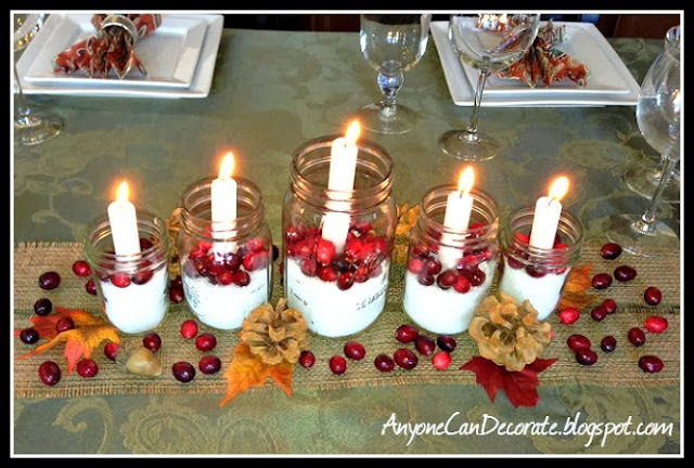 Anyone can decorate simple elegance diy thanksgiving