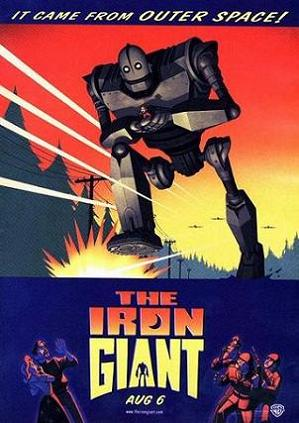 Iron Giant original poster