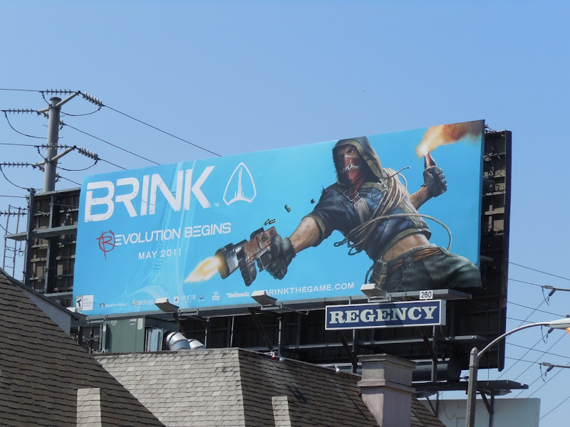 Brink game billboard