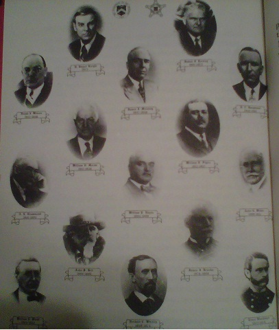 The first 15 Secret Service Chiefs, 1865-1981