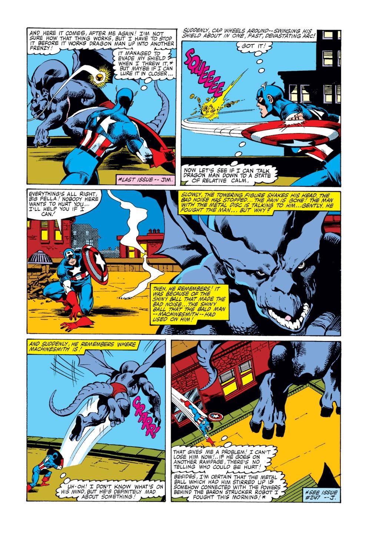 Captain America (1968) Issue #249 #164 - English 4