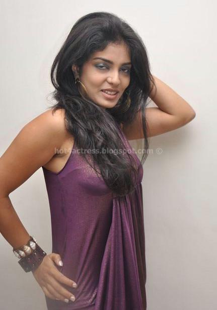 Jahnavi latest hot photos in hot dress