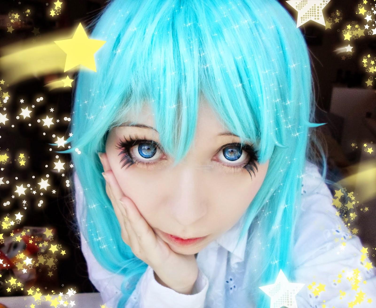 I.Fairy Nova blue colored contacts
