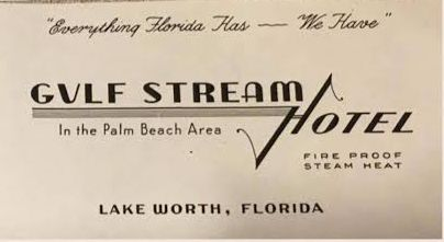 "Happy New Year! Jan- uary 1st, 1942. Click on ""Gulf Stream Hotel"":"