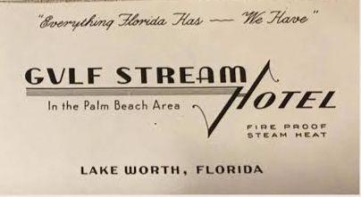 "Happy New Year! Jan- uary 1st, 1942. Click on ""Gulf Stream Hotel"":"