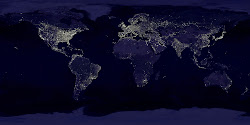 LIGHTS ACROSS THE EARTH
