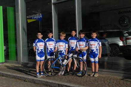 Giovanissimi : Gabriele,Emanuele ,Thomas,Daniele,Nicola e Valerio