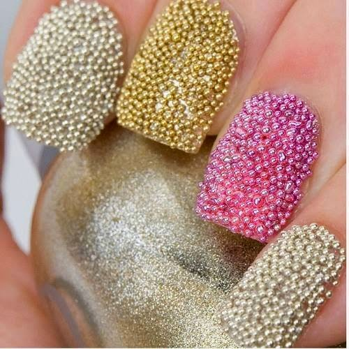 Caviar Nail Art Designs #1