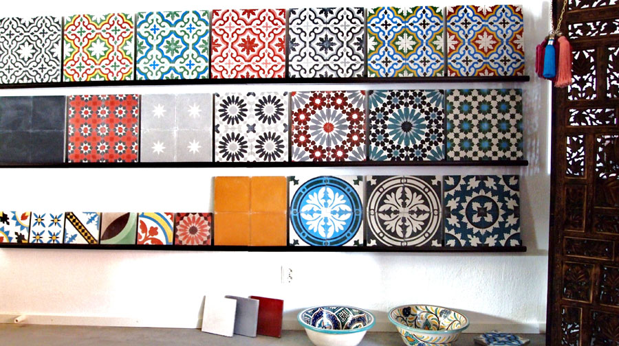Marockanskt Kakel Till Kok : En marockansk kakelplatta or som ett helt konstverk, so vackra!