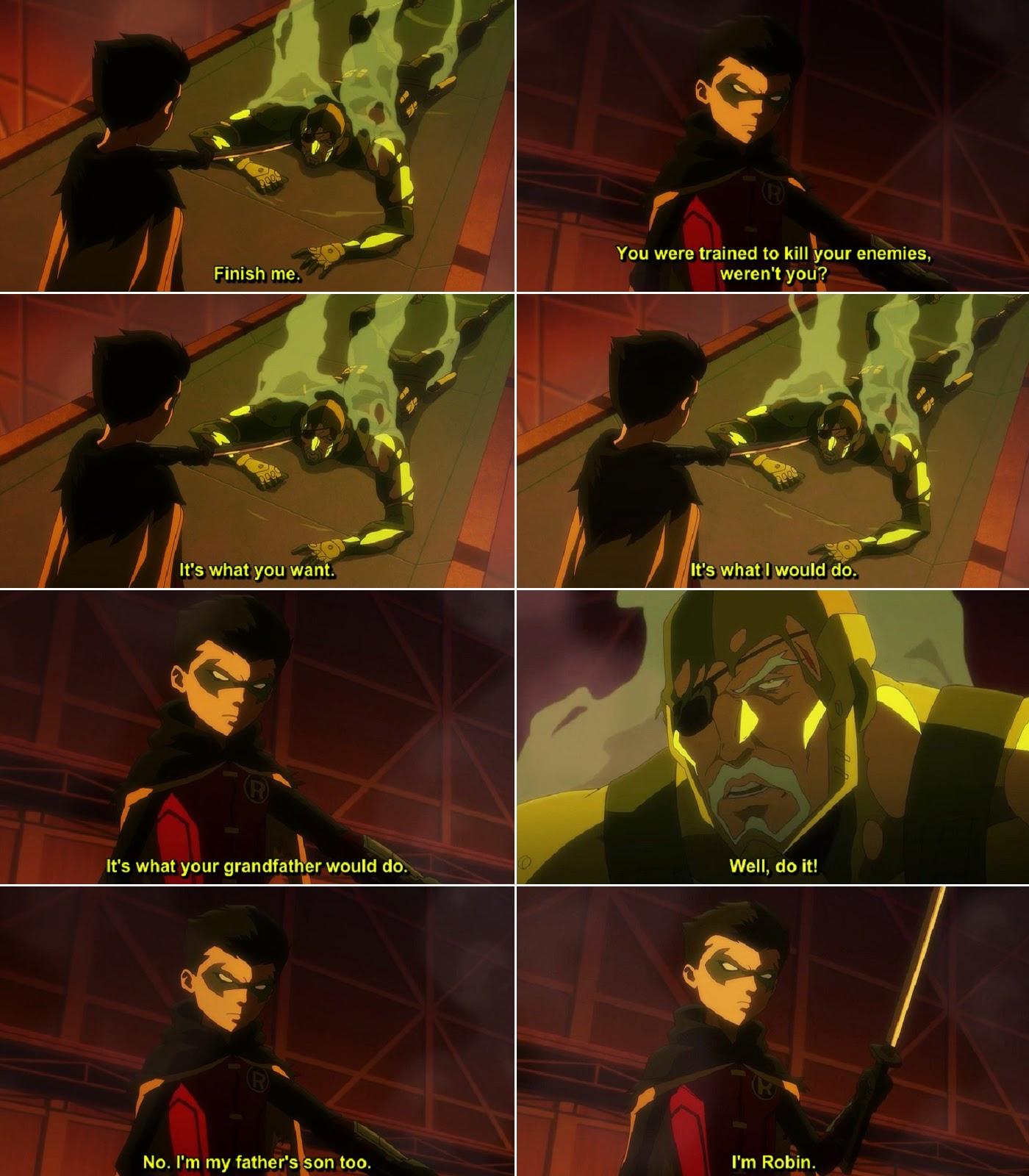 Son of Batman Quotes