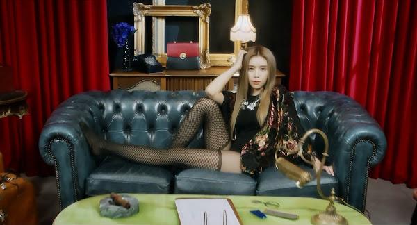 Fiestar's Cao Lu (차오루) in You're Pitiful MV
