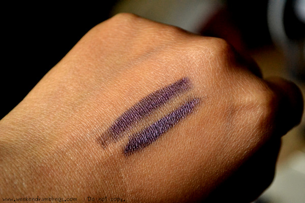 urban decay glide on eyeliners pencils 24 7 rockstar maybelline gel liner aubergine comparisons dupes swatches reviews eotd makeup blog beauty