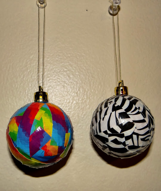 Amber's Craft A Week Blog: Duct Tape Ornaments
