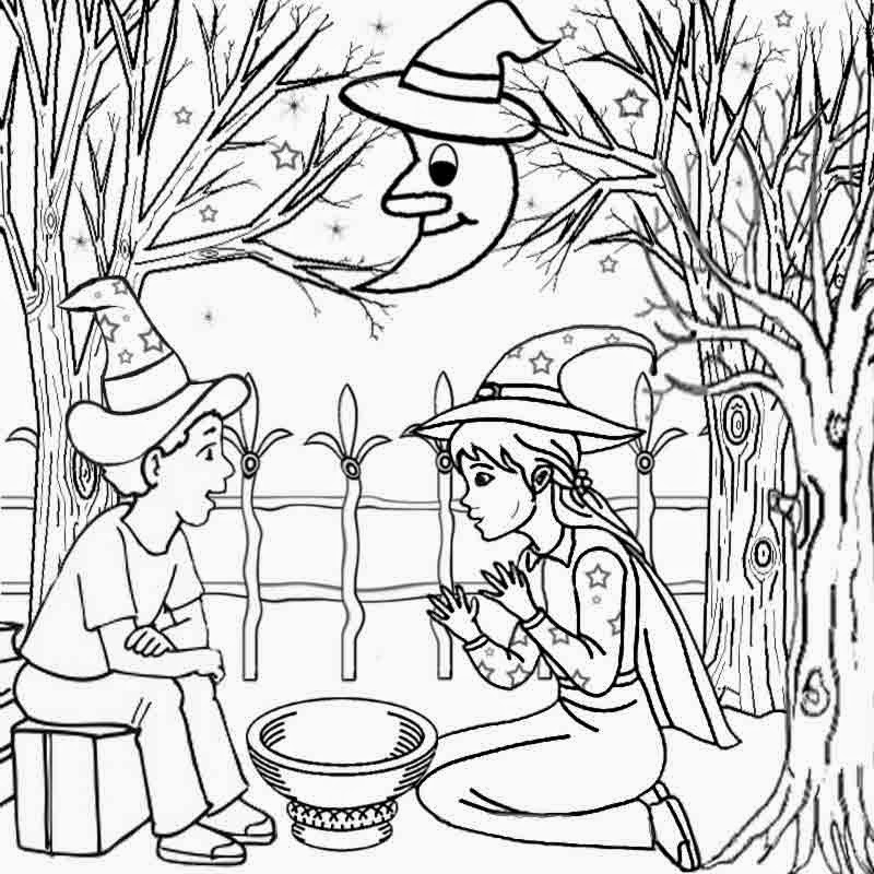 Harvest Moon Coloring Pages Coloring Good Night Moon