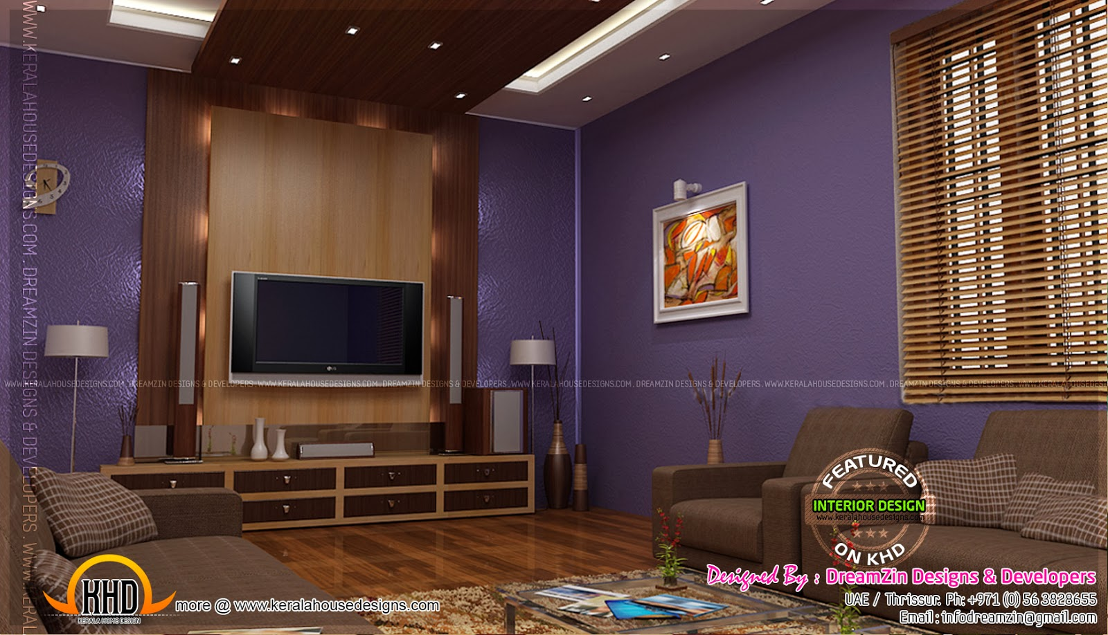 Interior Designs By Dreamzin Designs Uae And Kerala