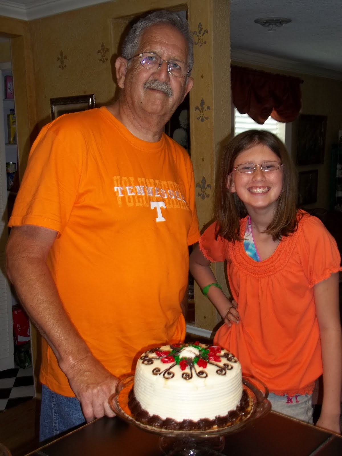 My Papaw Had His Birthday On Sunday Me And Mamaw Surprised Him With A Red Velvet Cake Old Fashioned Vanilla MAYFIELD Ice Cream Thats HIS Favorite