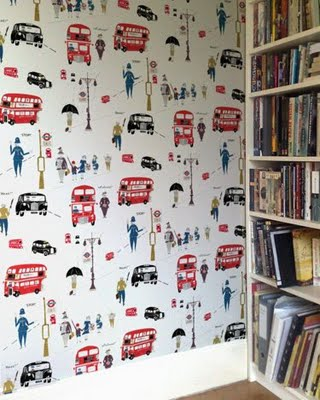 ... Cath Kidston Vintage Car Print For The Walls With Lots Of Vintage Toys,  Different Coloured Furniture And Two Little Iron Beds. (Have I Already  Picked?