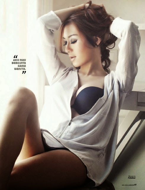 Foto Seksi Model Sexy Rizuka Amor