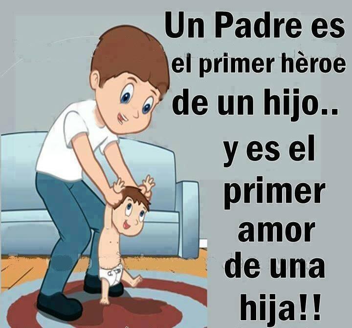 padre héroe de hijo