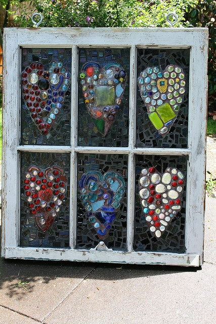 Bohemian pages diy friday recycle this that for Recycled window frames