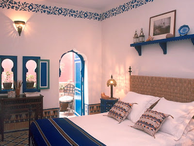 foto dormitorio marroquí